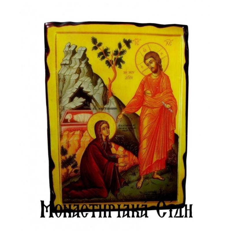 Αγία Μαρία η Μαγδαληνή με τον Χριστό