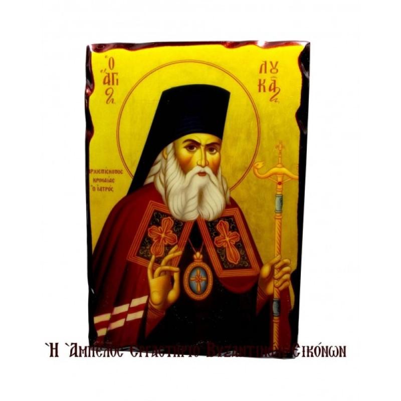 Ο Άγιος Λουκάς ο Ιατρός