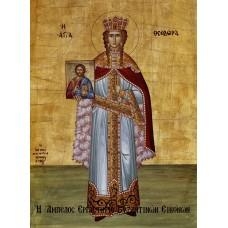 Αγία Θεοδώρα η Βασίλισσα του Βυζαντίου - Βυζαντινή Εικόνα