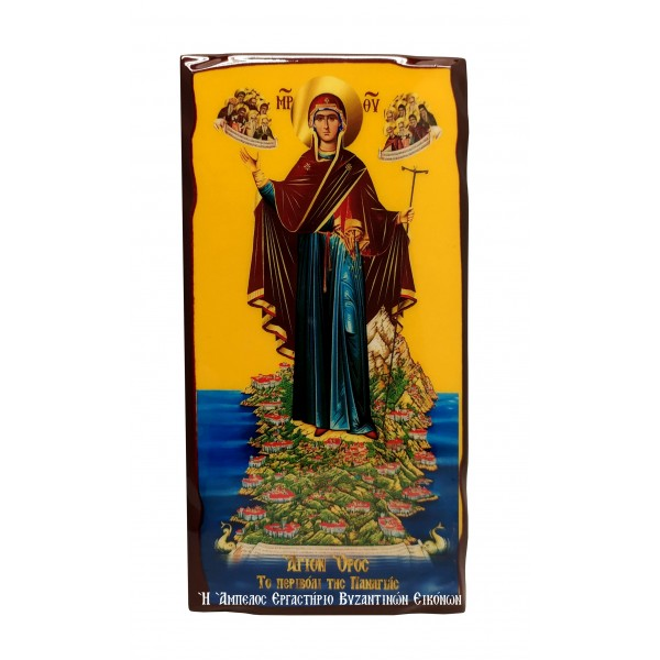 Εικόνα Παναγίας της Αθωνίτισσας Αγίου Όρους
