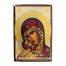 Εικόνα Παναγίας της Γλυκοφιλούσας-χρυσοκονδυλιά